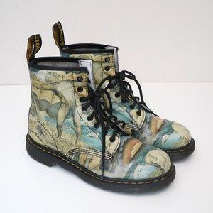 Dr Martens Unisex William Blake 1460 8-Eye Boots